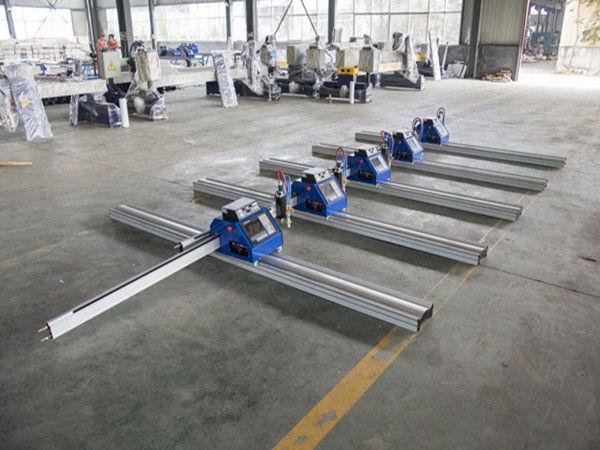 180W порталы қалың металды кесуге арналған плазмалық кескіш машина 6 - 150 мм