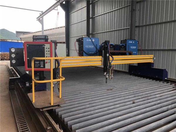 Қытайдың үлкен өлшемді CNC гантри жалыны плазмалық кесу машинасы