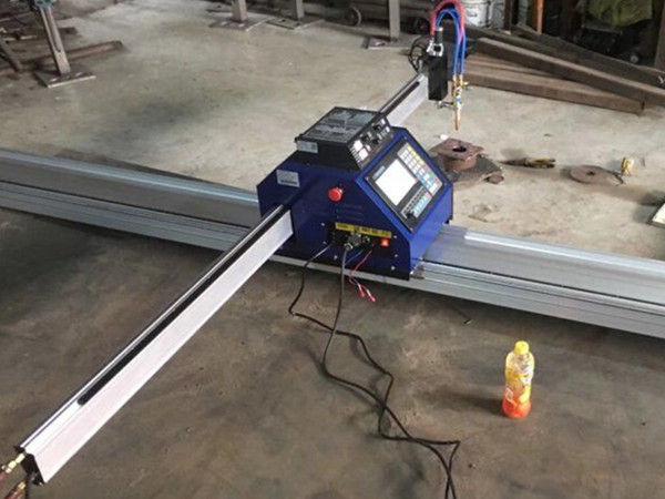 Қытайда арзан 15002500 мм металды портативті CNC плазмалық кесу машинасы CE