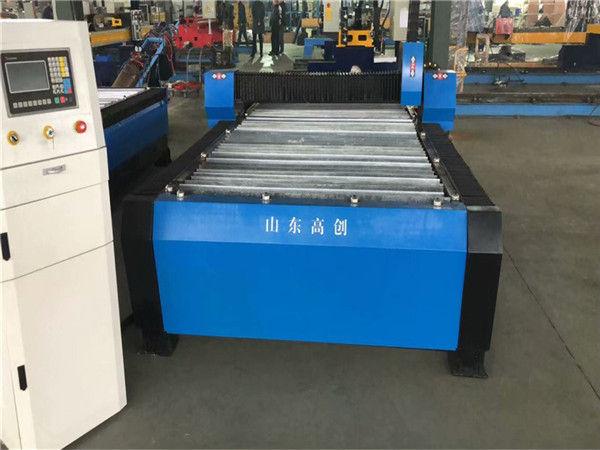 Қытай Huayuan 100A плазмалық кескіш CNC машинасы 10 мм пластина металл