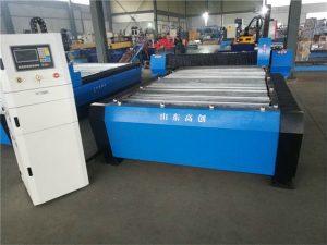 Jinan CE кәсіпқойлығы 1325 CNC плазмалық ұсақ кескіш станок