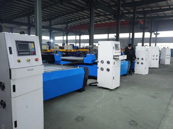 Жаңа дизайндағы жұмыс үстелінің профилі плазмалық жалын кесетін машина өндірушілері CNC жұмыс үстеліндегі плазмалық жалынды кесу машинасы