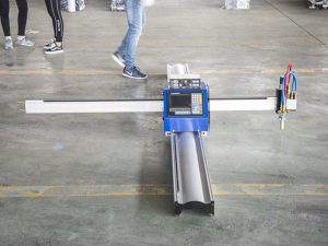 Жаңа технологиялы портативті типтегі cnc плазмалық кесу станоктарының бағасы шағын бизнестің өндірістік машиналары