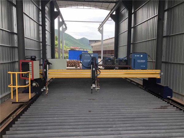 Servo моторы бар дәл CNC плазмалық кесу машинасы 13000 мм дәл